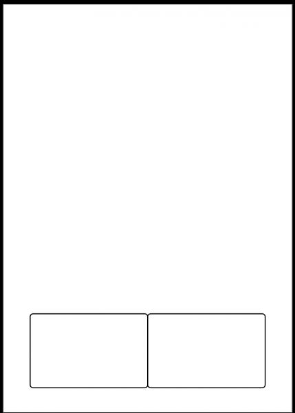Brillenpass A4 (briefCARD 401)