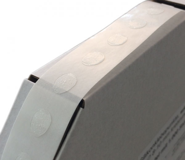 Zubehör: Silikonklebepunkte, 8-10 mm, ablösbar