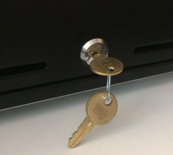 Zubehör: Ersatzschloss mit Schlüssel